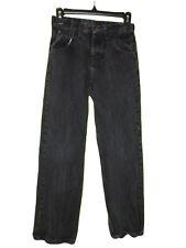 Black Wrangler Jeans Size 12 Regular Side Adjusters