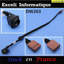 Sony vaio PCG-8122M, PCG-8W1M dc power jack wire cable harness socket pin port