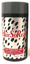 HSR - HAIR SO REAL 1 PC BLACK Get Rid of Bald Spots SAME DAY FREE SHIPPING