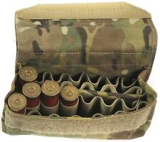 Shotgun Ammo Pouch 24 Rounds / MOLLE Compatible in Multicam