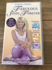 Barbara Currie's Fabulous Shape Forever VHS Video Retro Keep Fit Excercise Rare