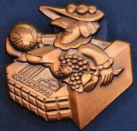 Swiss Switzerland Fasnacht Basel Carnival badge 2001 *[15480]