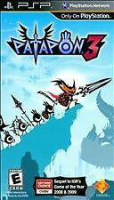 Patapon 3 - Physical Disc Version (PlayStation Portable PSP) NEW FACTORY SEALED