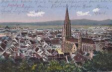 AK Freiburg i. B., Feldpost 1916 gelaufen