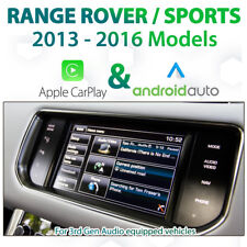 Range Rover / Sports Factory Audio Apple CarPlay & Android Auto Retrofit Kit
