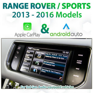 Range Rover L494 / L405 - Apple CarPlay & Android Auto Integration
