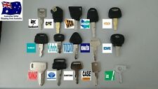 15 x Excavator Plant Keys Master Set of 15 Bobcat CAT JCB Kubota FREE POSTAGE