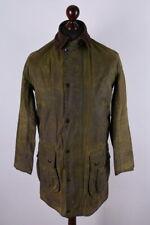 Barbour Border Vintage Waxed Jacket Size XS