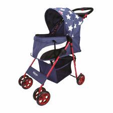Ibiyaya Pop Art Pet Stroller Comfy Compact Folding Dog Buggy - Starlit Captain