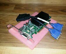 Dell Optiplex GX620 GX280 745 755 Tower Dual VGA Monitor Video Card PCIe x16
