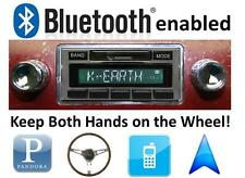 Bluetooth Enabled '49-1967 VW Bus AM FM Stereo Radio 300 watts USB, iPod inputs