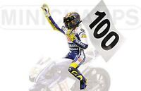 MINICHAMPS 312 090176 V ROSSI figurine 100 GP Wins Assen MotoGP 2009 1:12th