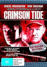 Crimson Tide - EXTENDED EDITION- DVD- LIKE NEW FREE POST AUS WIDE REGION 4