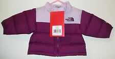 THE NORTH FACE KIDS INFANT BABY THROWBACK NUPTSE DOWN JACKET NEW sz 0-3 M