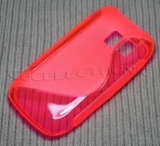 Custodia Cover Case in Silicone Tpu Gel colore Fucsia per Nokia Asha 302 3020
