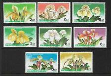 1992 Orchids set of 8 Complete MUH/MNH as Issued