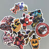 22pcs Five Nights at Freddy's Stickers Decals Fits Car Skateboard Luggage Laptop