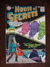 House Of Secrets #62 G+ Three Faces Of Fear