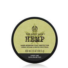 NEW& LOWEST PRICE!The Body Shop HEMP FOOT PROTECTOR Cream 3.45oz 100 ml $20