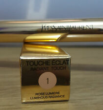 YSL TOUCHÉ ÉCLAT radiant Touch SHADE NO 1 - 1.5 - 2 - & 2.5 - FREE UK POST