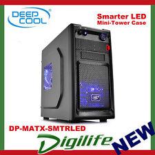 DeepCool Smarter LED Mini ATX Tower Chassis USB3.0 DP-MATX-SMTRLED