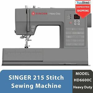 NEW SINGER HD6600 HEAVY DUTY COMPUTERIZED SEWING MACHINE METAL FRAME *SHIPS FREE