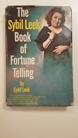 The Sybil Leek Book Of Fortune Telling 1969 HC DJ Vintage & Collectible