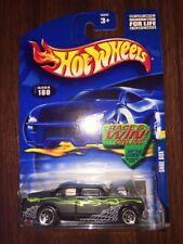 Hot Wheels 2002 Mainline #180 Shoe Box Flat Black w/ 5SPs BLUE CARD BRAND NEW