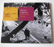 MICHEL LEGRAND - PARIS JAZZ PIANO - DIGIPACK  CD