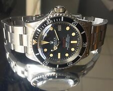 Rolex Double Red Sea Dweller Submariner 1665 Circa 1976 DRSD Rare