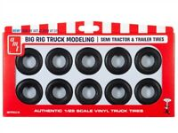 AMT Big Rig Truck Tire Parts Pack 10 tires 1:25 scale new 23