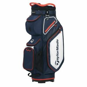 TaylorMade 8.0 Cart Bag 2020 Navy White Red NEW 11564