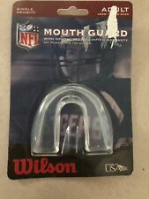 Wilson Football Mouth Guard Adult Nfl Single Density Mouth Protection