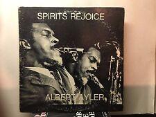 ALBERT AYLER -Spirits Rejoice ~ESP 1020 {orig} *1965* wGrimes, Murray >VERY RARE