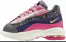 New Nike Little Max '95 Pink/Purple Girl Toddler Shoes CI9938-500