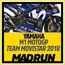 Kit Adesivi YAMAHA M1 MotoGP 2018 - Valentino Rossi - High Quality Decals