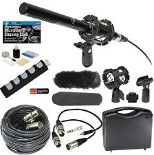 Broadcast Microphone Kit for Canon 5D Mark III 6D 7D 80D 70D 60D T6s T6i T5i T3i