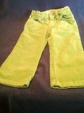 Children's Place Green Sparkle Corduroy Pants 24 Months