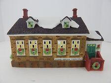 Dept 56 New England Village Stoney Brook Town Hall #56448 Good Condition 1