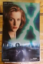 "SIDESHOW X-FILES DANA SCULLY EXCLUSIVE w/FBI JACKET 12"" Sixth Scale Figure 1/6"