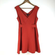 Marc Jacobs Little Red Dress Fit Flare Skater Party Medium
