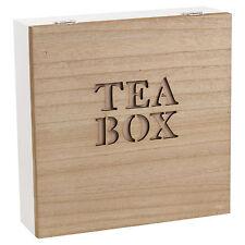 Natural Wooden Chic Tea Bag Box Organic Clipper 90 Tea Bags, Free Delivery