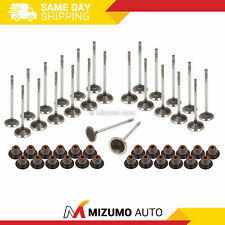 Intake Exhaust Valves w/ Seals Fit Ford Lincoln Mercury 4.6L 5.4L SOHC 3-VALVE