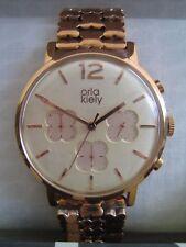 Orla Kiely Ladies Watch OK4004 Frankie Rose Gold Stainless Steel Chronograph