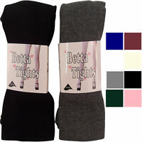 NEW BABIES CHILDRENS GIRLS SCHOOL TIGHTS KNITTED WOOLLY PARTY WARM SIZE LYCRA