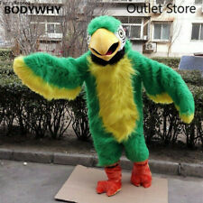 Parrot Mascot Costume Suit Cosplay Party Dress Outfits Clothing Carnival Fursuit