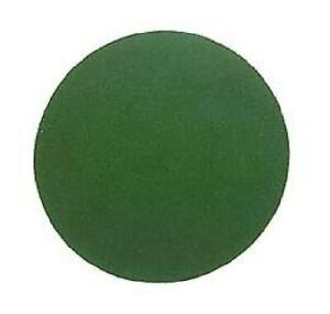 """ROUND ~ Self Adhesive Back ~ GREEN Felt Pad  For Lamp Bases, { 2.5"""" to 8"""" Dia. }"""