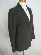 Patrick Cox Size 44 or 14 Brown Blazer Wool Jacket