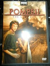 Pompeii  The Last Day  BBC Video  DVD