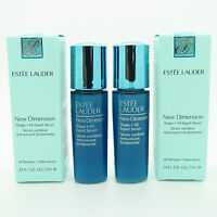Set of 2 Estee Lauder New Dimension (0.24 OZ each) + Extra SAMPLES